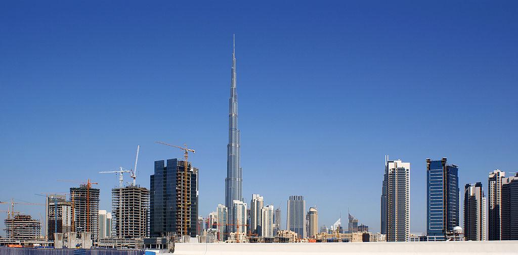 Бурдж-Халифа в ОАЭ