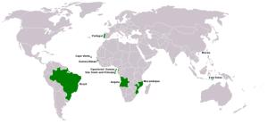 распространение португальского языка