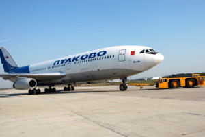 Самолёт в Пулково