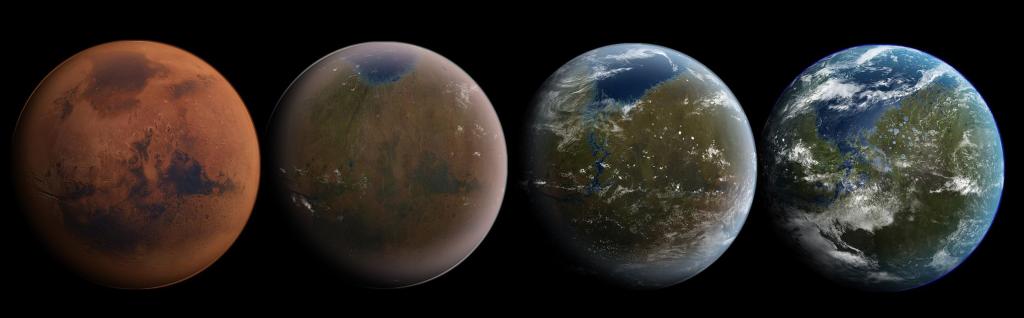 Этапы терраформирования Марса