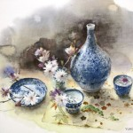 Акварельные работы Юко Нагаямы