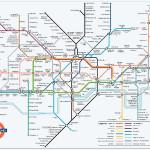 Схема метрополитена Лондона