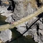Удивительный подвесной мост в Перу