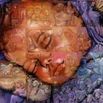 Мозаичные панно Льюиса Лаво