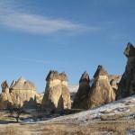 Каменные столбы Каппадокии