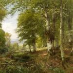 Пейзажи Генриха Бёмера