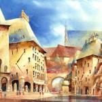 Картины Титуса Бржозовского