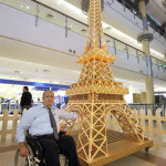 Самую высокую модель Эйфелевой башни воздвиг Тоуфик Дахер