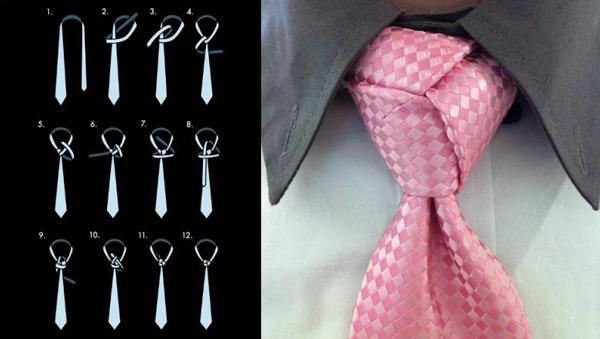 Современные способы завязывания галстуков