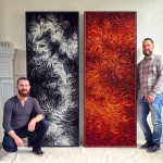 Картины Стефана Стама и Джейсона Хэлмана