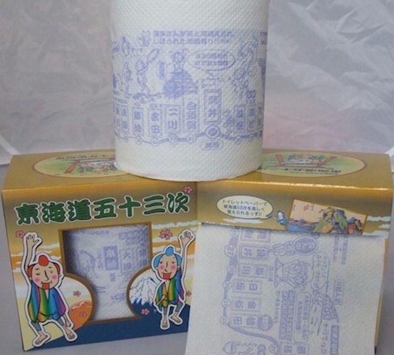 Туалетная бумага с мангой