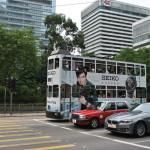 Почти все автобусы и трамваи в Гонконге двухэтажные (английское прошлое).