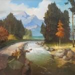 Русские пейзажи Виктора Быкова