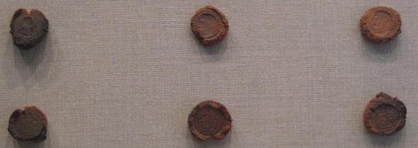 Формы были для подделки римских монет