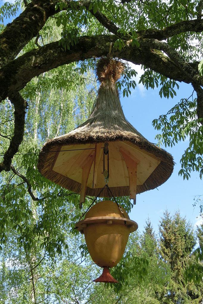 Деревянные ульи в Германии