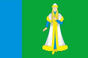Флаг Островского района