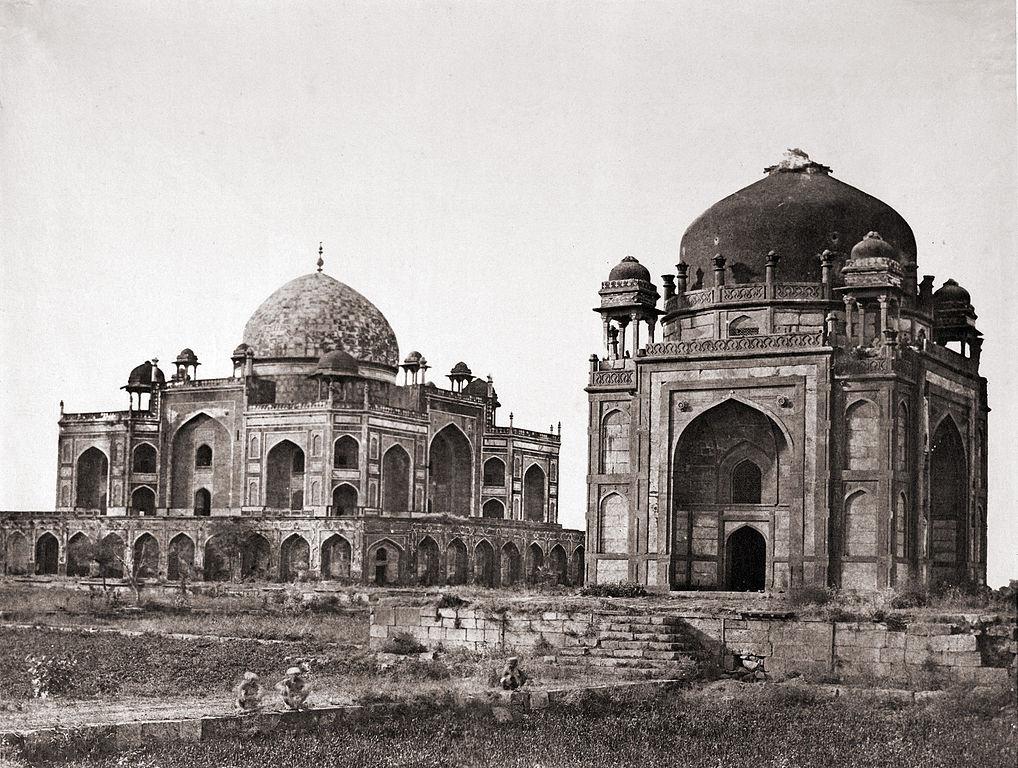 Гробница Хумаюна в 1858 году