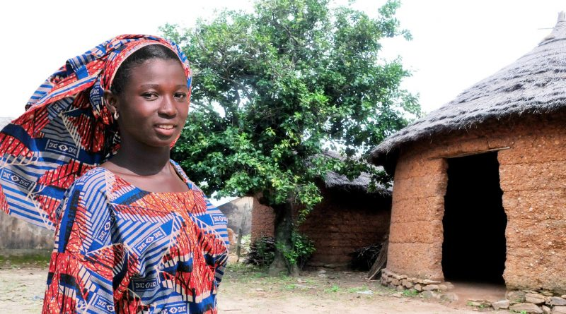 Интересные факты о Того || Женщина в деревне Того