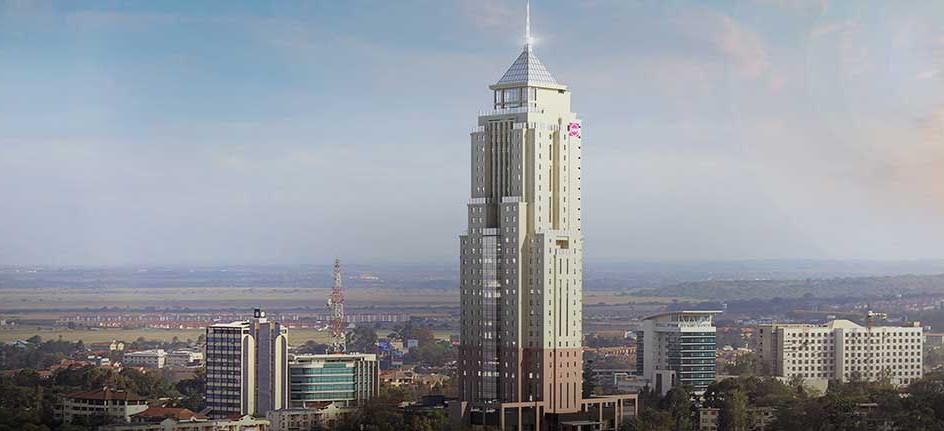 UAP Tower, Найроби, Кения