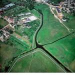 В Польше есть место, где под прямым углом пересекаются две реки — Велна и Нельба