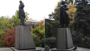 В Одессе появился первый памятник Дарту Вейдеру