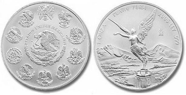 Самой красивой в мире признана мексиканская монета 2005 года