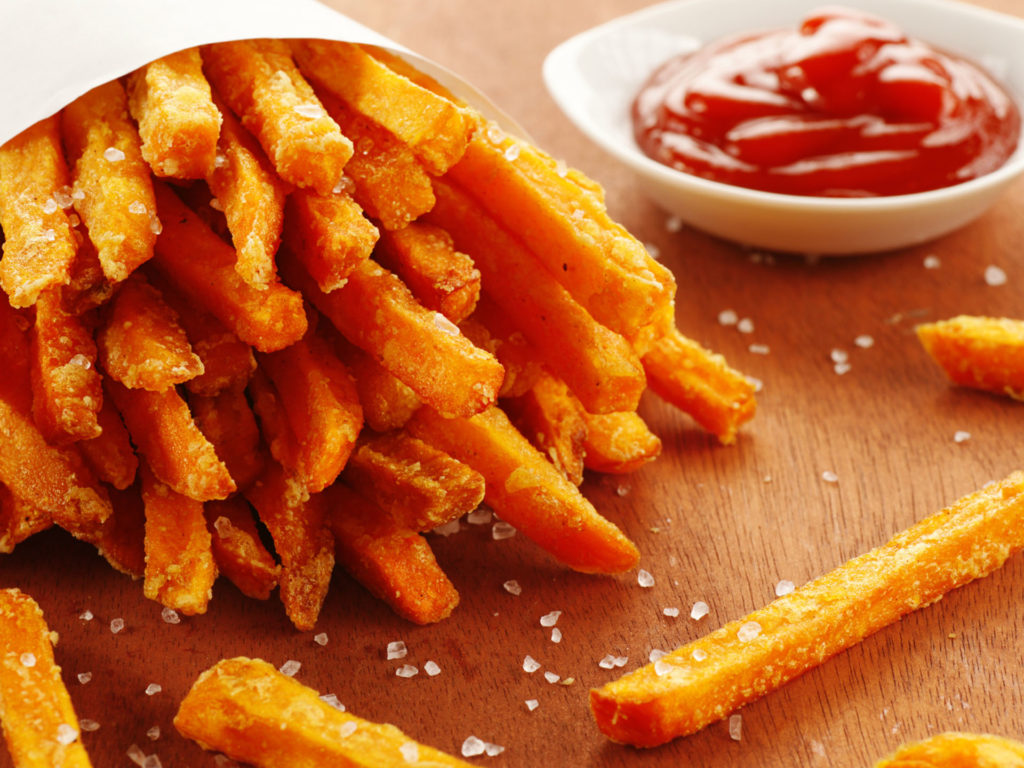 Картофель фри из батата