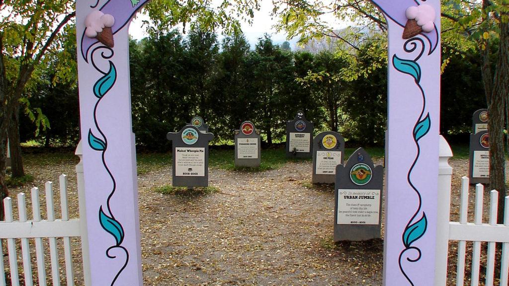 Ice-Cream Graveyard of Vermont