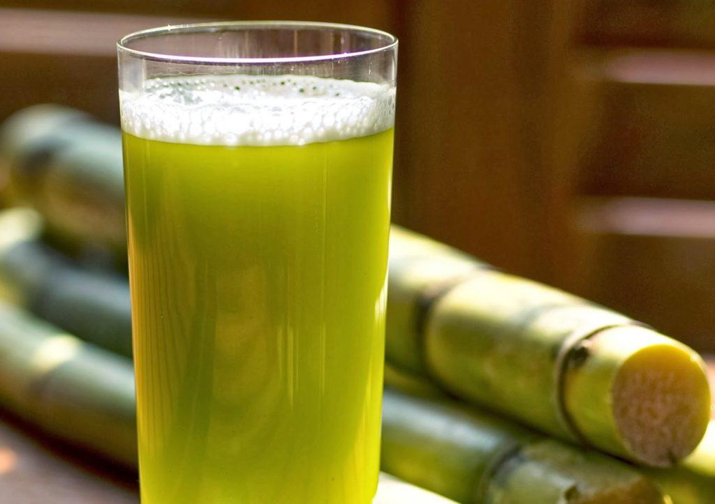 Сок из сахарного тростника
