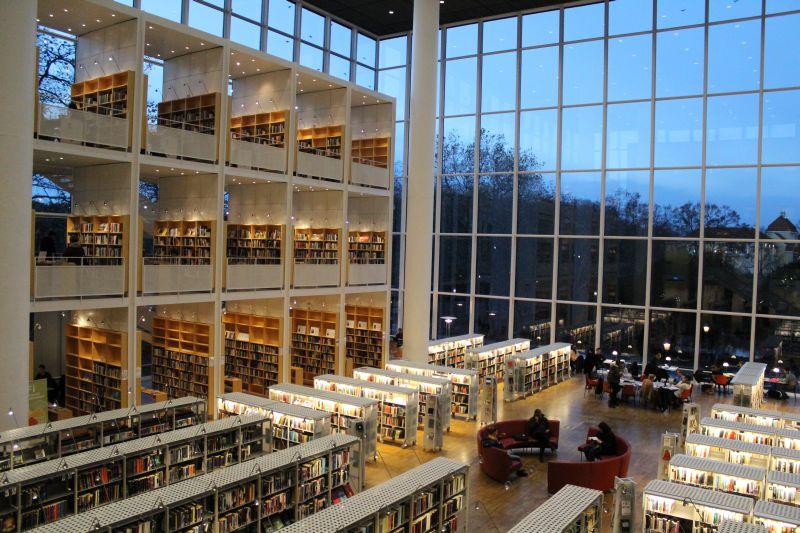 Городская библиотека Мальмё