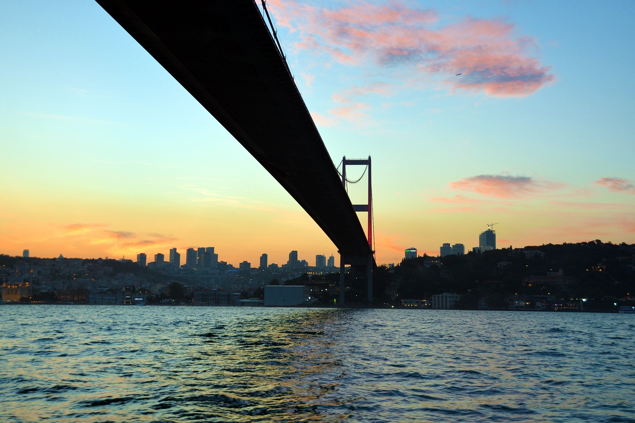 Босфор, мост через Босфор