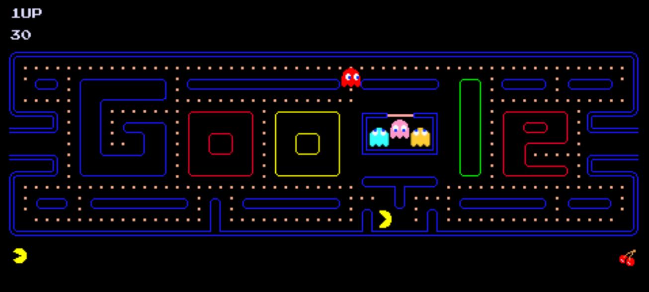Pac-Man Doodle
