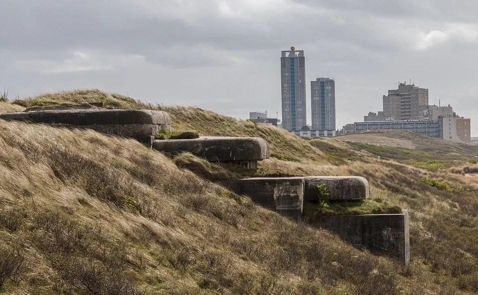 Во время Второй Мировой войны фашисты возвели рядом с Гаагой настоящий подземный укреплённый город.