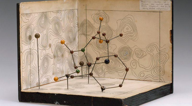 Молекулярная модель пенициллина