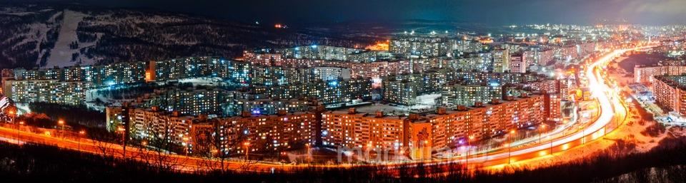 Самый большой дом в России (Мурманск)