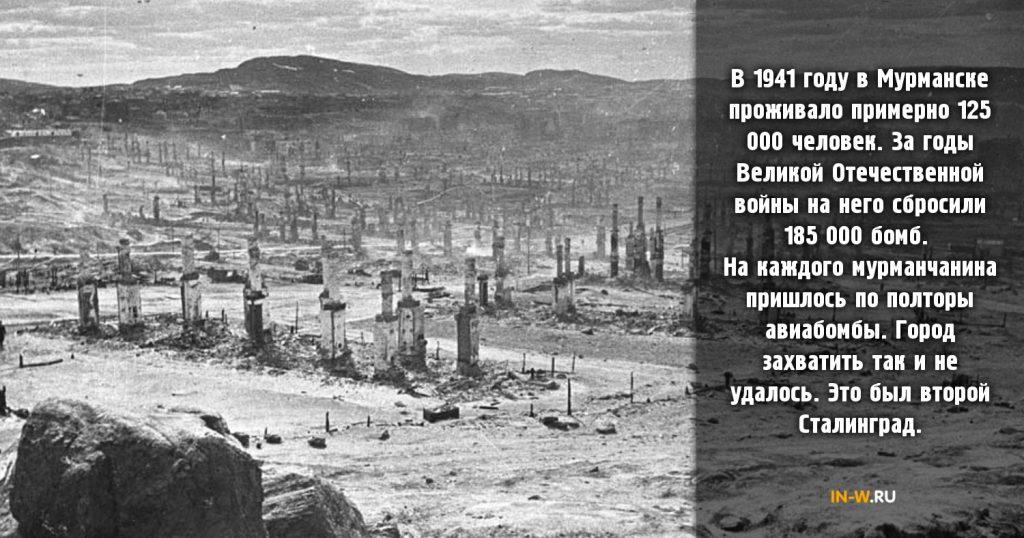Город во время Великой отечественной войны