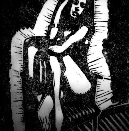 «Девушка на стуле» (А. Гершун)