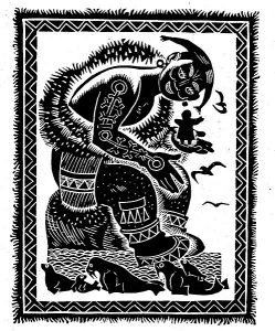 «Пять девушек и Майирахпак» из книги «Эскимосские сказки и легенды»(Д. Брюханов)