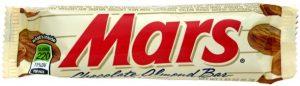 Батончик Mars, который продавали в США
