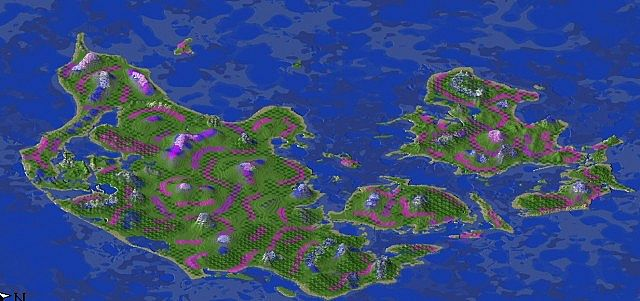 Своя маленькая Дания в Minecraft