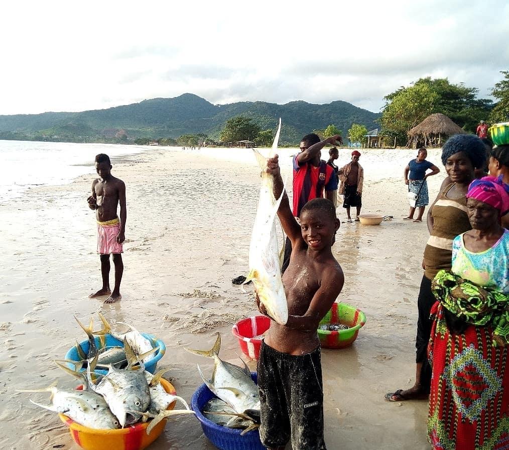 Рыбалка в Фритауне