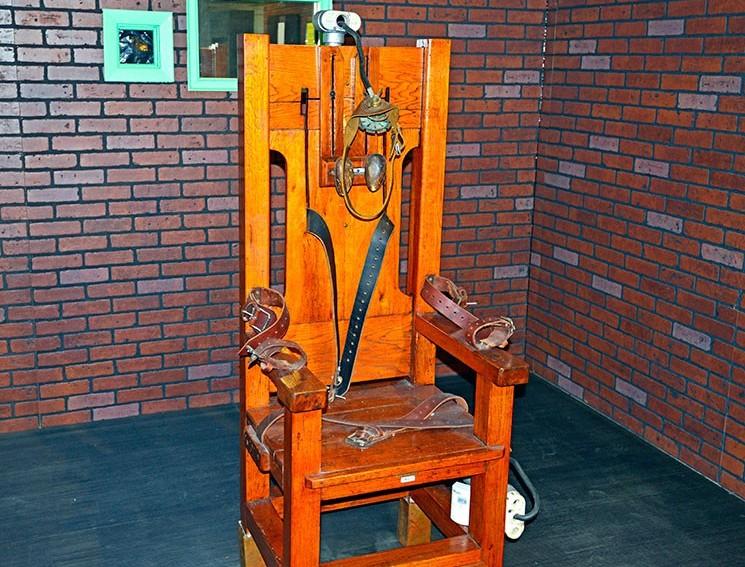 """Электрический стул """"Old Sparky"""""""