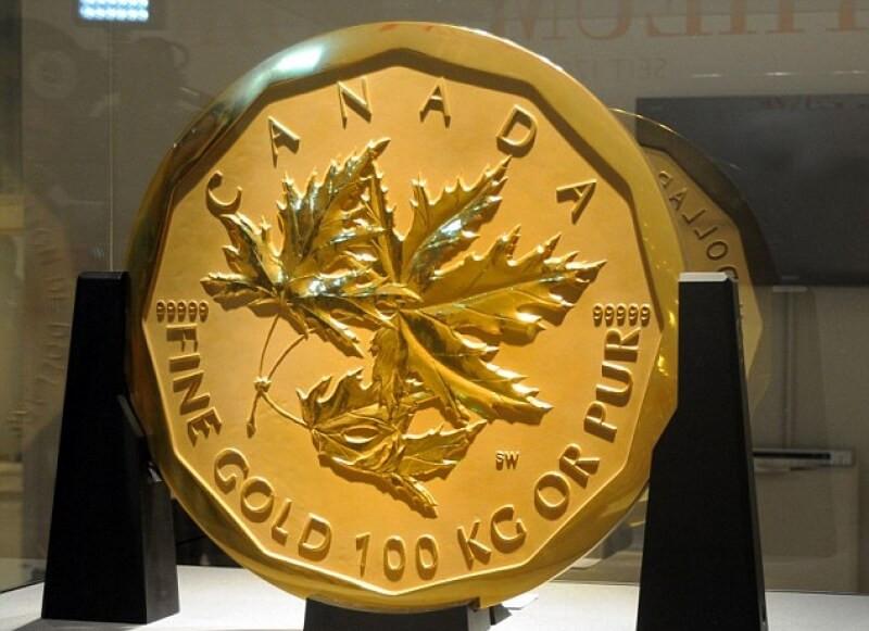 100 кг золота за миллион долларов