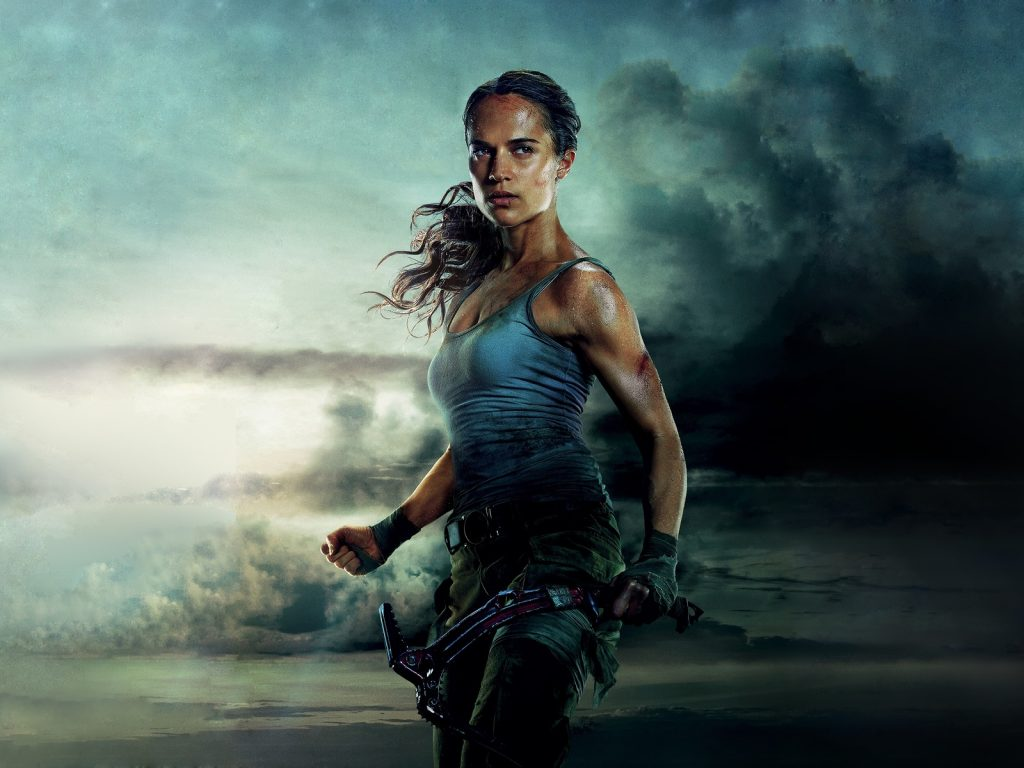 """""""Tomb Raider: Лара Крофт"""" с Алисией Викандер"""