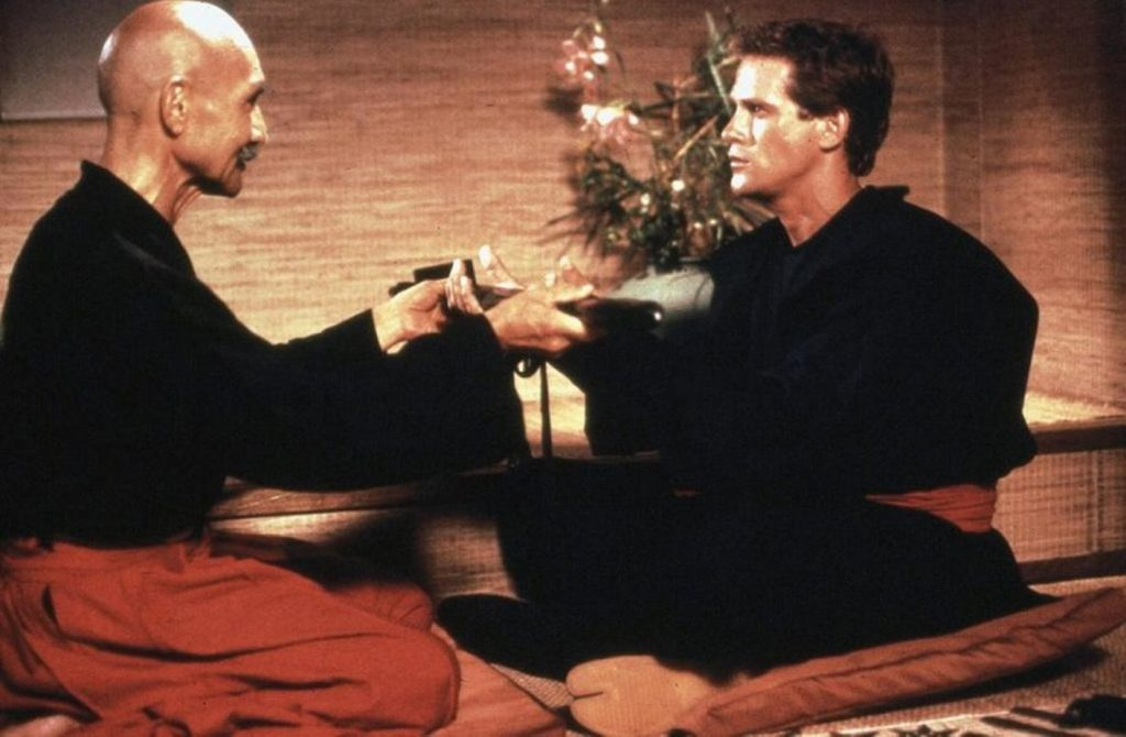 """Кадр из фильма """"Американский ниндзя"""" (1985)"""