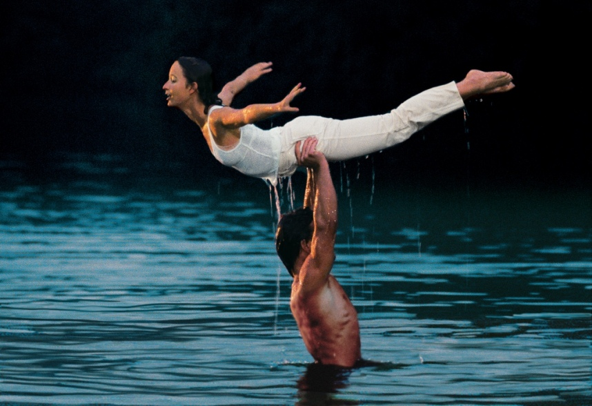 "Кадр из фильма ""Грязные танцы"""