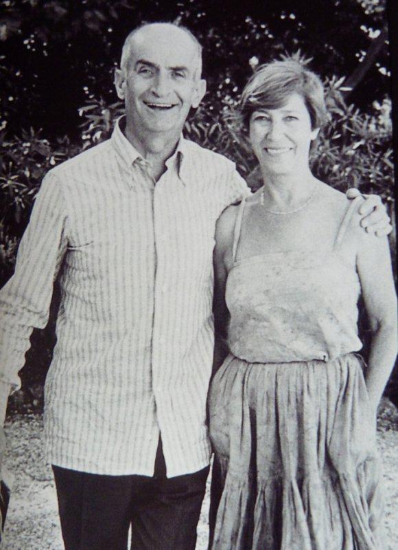 Актёр с супругой
